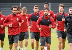Galatasaray son idmanını yaptı