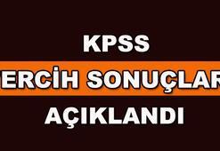 KPSS tercih sonuçları belli oldu - KPSS 2017/2 tercih sonuçları sorgula