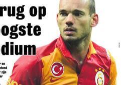 Sneijder manşette