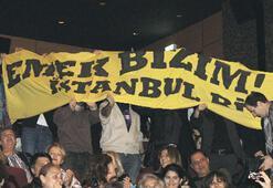 Festivale 'Emek' protestolu açılış