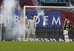Çevik kuvvetten Trabzonspor taraftarına müdahale