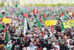 150 bin kişilik 'Kutlu Doğum' mitingi