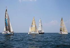 Deniz Kızı Ulusal Kadın Yelken Kupasında ilk gün tamamlandı