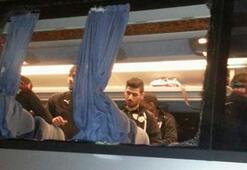 Bursaspor takım otobüsüne saldırı