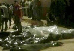 Bingazide kimliği belirsiz 37 ceset bulundu