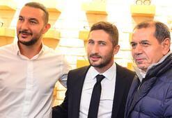 Galatasaray camiası Sabriyi yalnız bırakmadı
