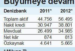 Denizbank'ın kârı 813 milyon TL