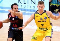 MHP Riesen - Gaziantep Basketbol: 86-74