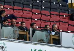 İstifa eden Melih Gökçek, Osmanlıspor maçını izledi