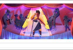 Googledan Ella Fitzgerald doodleı