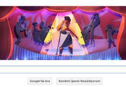 Ella Fitzgeraldı dünya devi Google anıyor