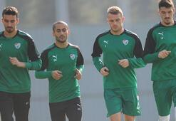 Bursasporda milli oyuncular takıma döndü