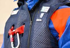 Dainese, yüksek yerlerde çalışan işçileri hava yastıklı ceketiyle koruyacak