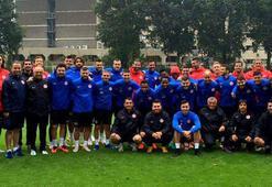 Antalyasporun Hollanda kampı başladı