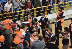 Trabzonspor Basketten olaylarla ilgili açıklama