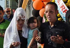 Yüz nakilli Recep Sert, bin 500 lira borcunu ödemeyince tutuklandı