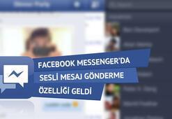 Facebook Messengerda Sesli Mesaj Gönderme Özelliği Geldi