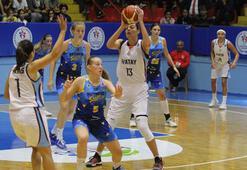 Hatay Büyükşehir Belediyespor-Piestanske Cajky: 82-58