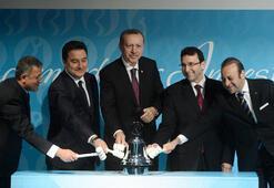 Erdoğan, Borsa İstanbulun gongunu çaldı