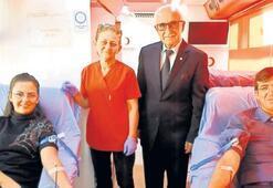 Foçalılar, 44 ünite kan bağışında bulundu