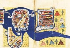 Tarihi haritalar Topkapı Sarayı'nda