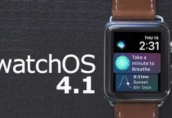 watchOS 4.1 güncellemesi çıktı watchOS 4.1 ile hangi yenilikler geliyor
