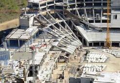 Timsah Arena Stadı'nın inşaat çalışmaları