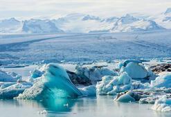 Antartikadan dev buz kütlesi koptu