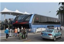 Çin İlginç Bir Otobüs Üretti