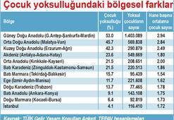 Türkiye'de her 100 çocuktan 40'ı, yoksul hanelerde