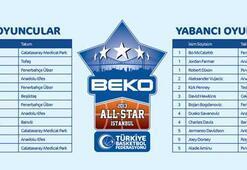 Beko All Starda kadrolar açıklandı