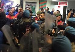 Aytemiz Alanyaspor-Kayserispor maçının ardından koridorlar karıştı