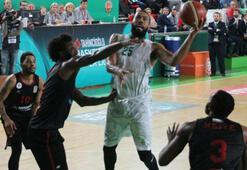 Yeşilgiresun Belediyespor-Gaziantep Basketbol: 91-84