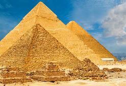 Büyük Giza Pramidinde gizli bir bölme keşfedildi