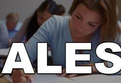 ALES sınavı ne zaman yapılacak ALES geç başvuruları başladı mı