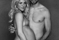 Shakira'dan anlamlı hamilelik pozu