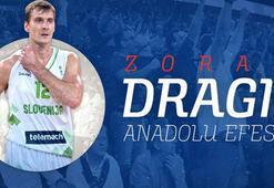 Zoran Dragic resmen Anadolu Efeste