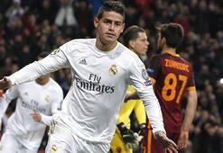 Real Madrid, Jamesin biletini kesti
