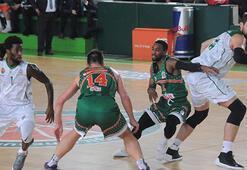 Yeşilgiresun Belediyespor-Banvit: 76-81