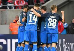Hoffenheim 3 puanı 3 golle aldı