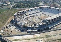 Timsah Arena inşaatı durdu