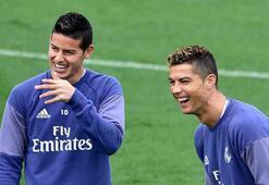 Ronaldodan Jamese büyük kıyak Partide...