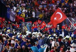 Törende Türkiyenin bayrağını Kayaalp taşıdı