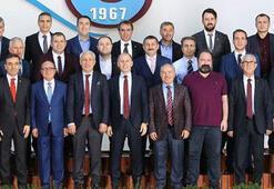 Trabzonsporda yeni görev dağılımı yapıldı