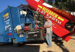 Dünyanın düz olduğunu kanıtlamak için ev yapımı roketiyle kendini fırlatacak