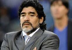 Diego Maradona baba oldu