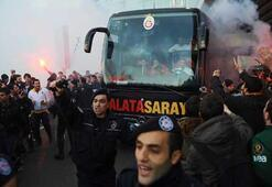 G.Saraya İzmirde görkemli karşılama