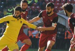 Gaziantepspor: 1 - İstanbulspor: 1