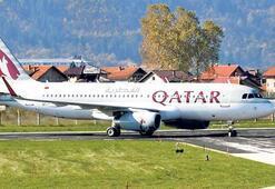 Aldatılan kadın uçağı indirtti