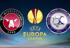 Maç başladı Midtjylland Osmanlıspor maçı hangi kanaldan şifresiz izleniyor